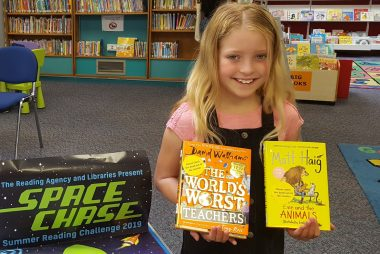 Have you started the Summer Reading Challenge?