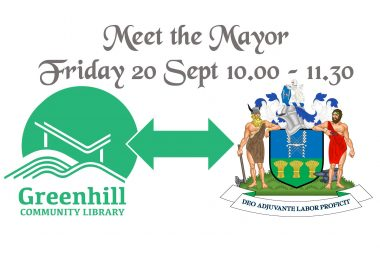 Tony Downing, Lord Mayor of Sheffield, is visiting the library this Friday