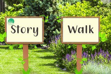 Half-term story walk