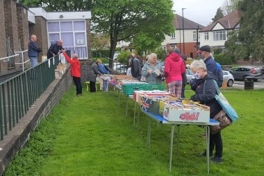 Our book sale on 22 May raised £156.